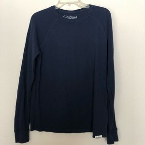 Lucky Brand Long sleeve Blue Med shirt